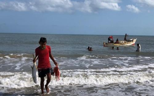 Pesca en La Guajira